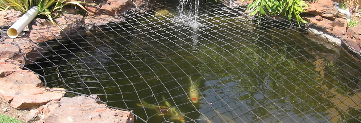 Pond Netting An Absolute Must For Every Pond