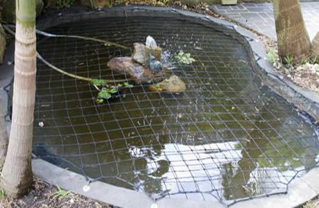 Child Safety Nets Protect Child And Pets From Pond Danger